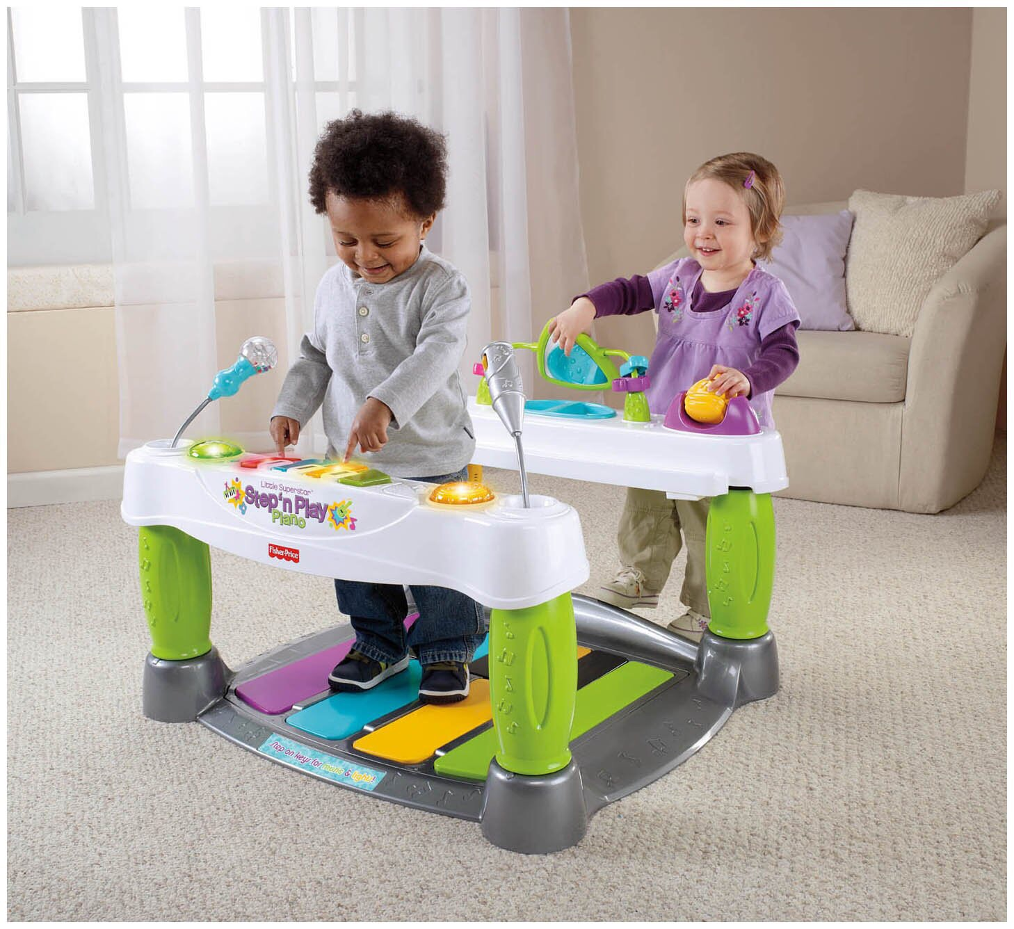 6a9015067 Fisher-Price Little Superstar Step  n Play Piano - OohLaLaBabyShop ...