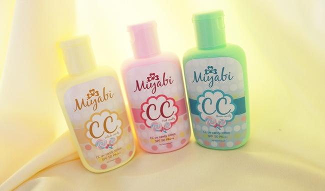 Miyabi CC UV Candy Lotion SPF 50 PA +++ มิยาบิ ซีซี ยูวี แคนดี้ โลชั่น