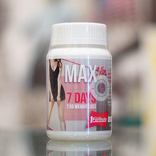 Max Slim แมกซ์ สลิม อาหารเสริมลดน้ำหนัก สูตรเข้มข้น