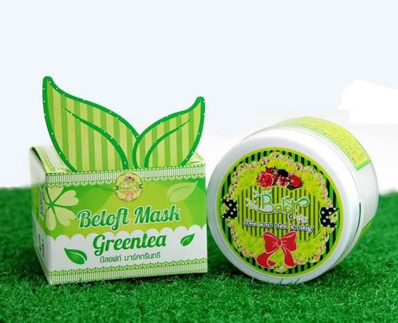 Beloft Mask Greentree บีลอฟท์ มาส์ค กรีนทรี ขาวออร่าถึงขีดสุด