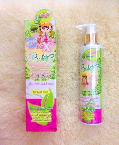 Beloft Greentea Whitening Body Lotion SPF60PA++
