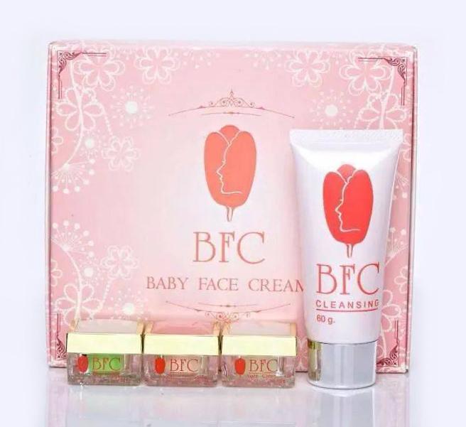 BFC Baby Face Cream Set บีเอฟซี ครีมหน้าใสรักษาสิว