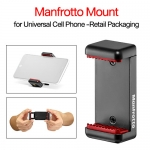 Manfrotto Mount for Universal Cell Phone - Retail Packaging