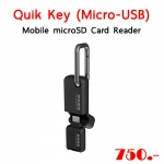 Quik Key (Micro-USB) Mobile microSD Card Reader