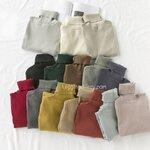 EAL เสื้อคอเต่าญี่ปุ่น รุ่นผ้าคอตตอล 14 สี