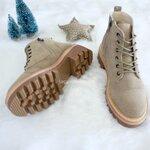 รองเท้าบูทกันหนาว Leather Comfort Martin Boots