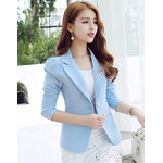 เสื้อสูทผู้หญิงสีฟ้า-1648-XXL