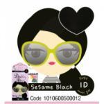 สีดำ 1D