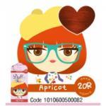สี Apricot 20R