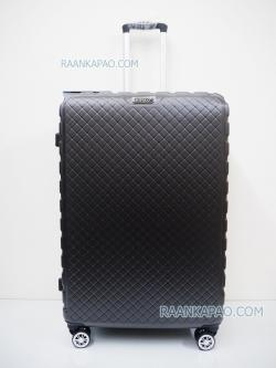 กระเป๋าเดินทาง fiber+abs 16035 ไซส์ 28 นิ้ว ยี่ห้อ Hipolo สีเทาเข้ม ส่งฟรี