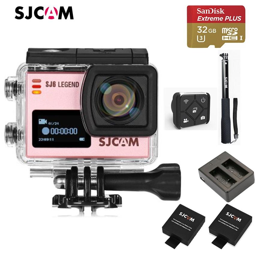 (Set S6) SJ6 LEGEND WiFi พร้อม memory 32GB , แท่นชาร์จ , แบตเตอรี่ 2 ก้อน(รวมในตัวเครื่อง) , รีโมทควบคุม และ ไม้เซลฟี่