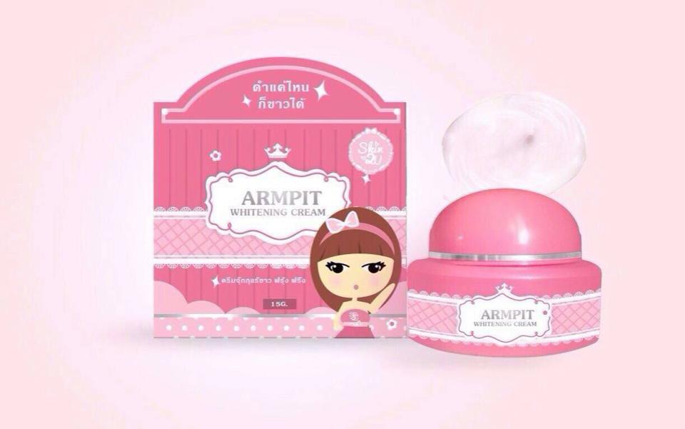 Armpit Whitening Cream ครีมจุ๊กกุแร้ขาว ฟรุ้ง ฟริ้ง
