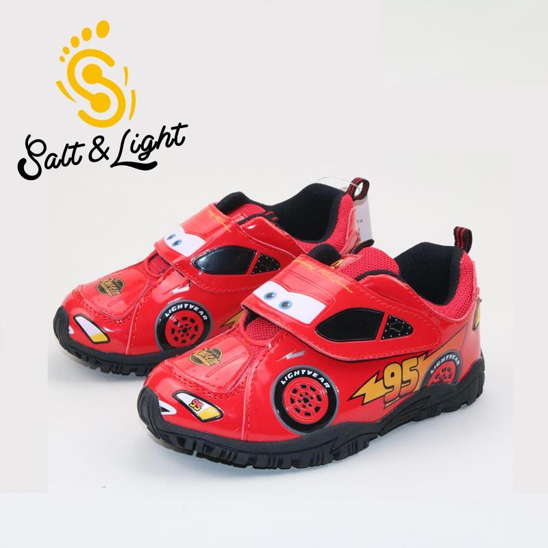 รองเท้าผ้าใบ คาร์ สีแดง