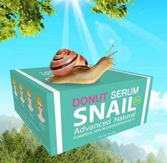 Donut Serum Snail โดนัท เซรั่ม สเนล เซรั่มเมือกหอยทากจากสเปน