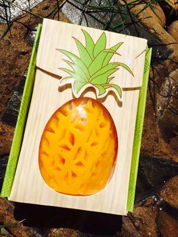 Frung Fring Pineapple Soap สบู่สัปปะรดฟรุ้งฟริ้ง