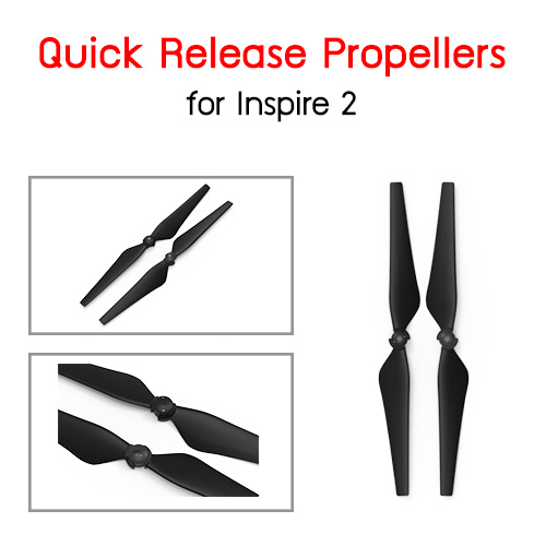 Quick Release Propellers for Inspire 2