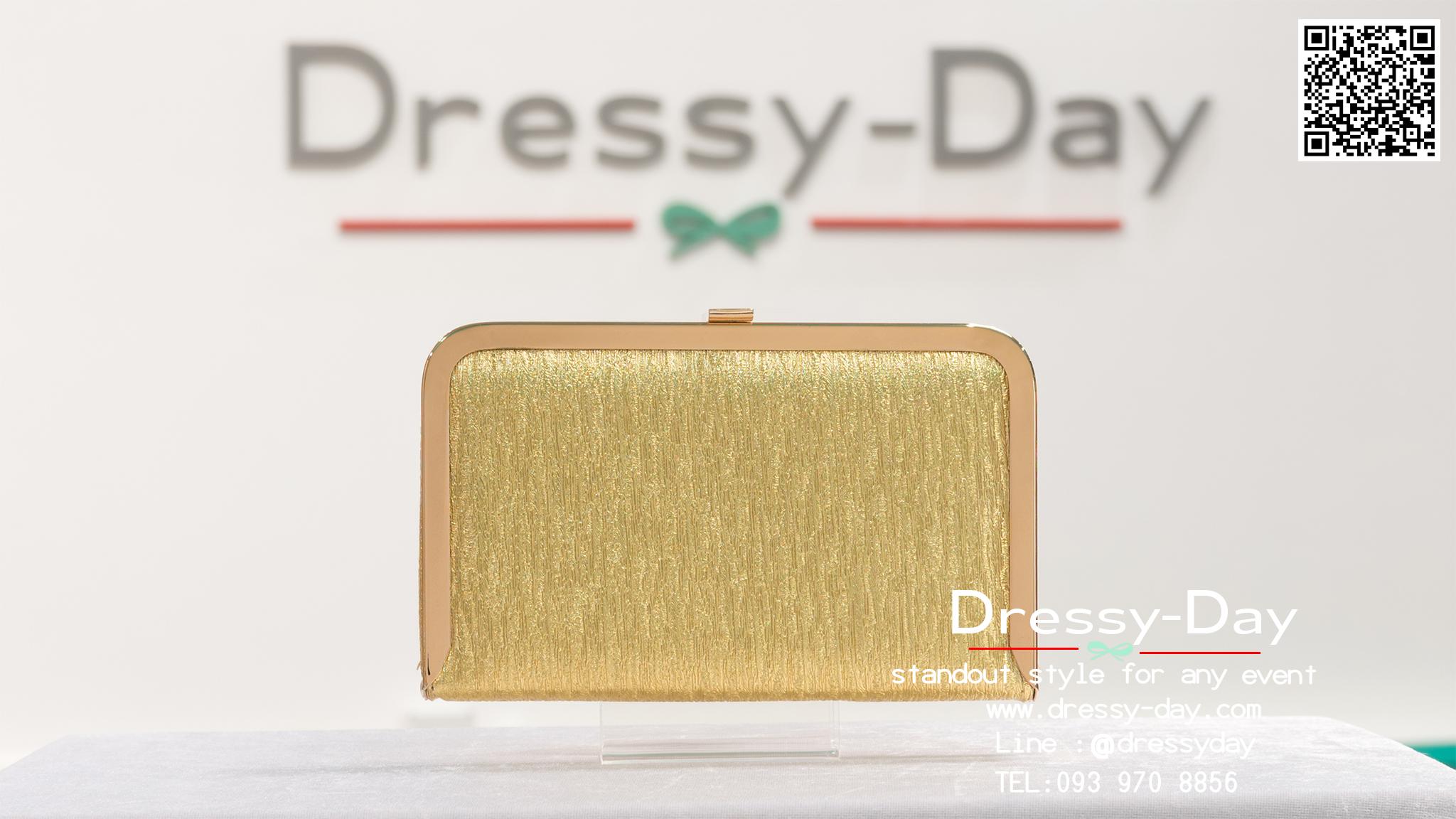 กระเป๋าออกงานพร้อ TE060 : กระเป๋าออกงานพร้อมส่ง สีทอง กระเป๋าคลัชตกแต่งกริตเตอร์สวยหรูมากค่ะ ราคาถูกกว่าห้าง ถือออกงาน หรือ สะพายออกงาน น่ารักที่สุด