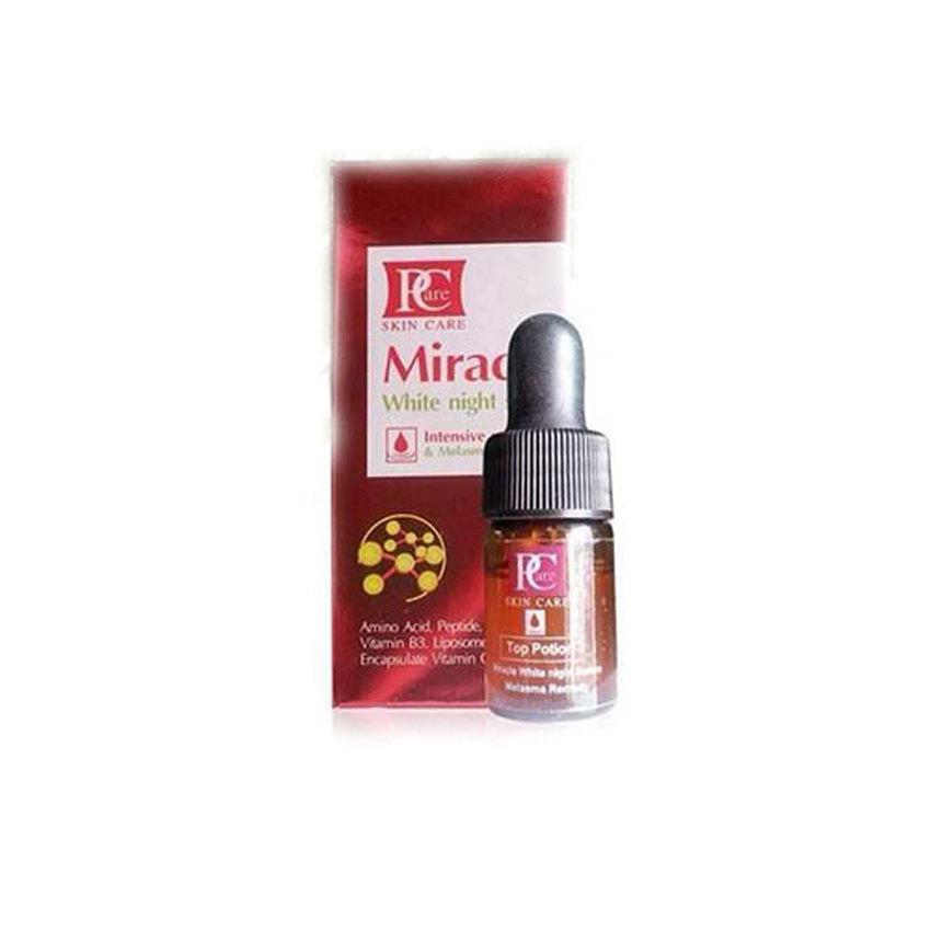 Miracle White night serum by Pcare Skincare เซรั่มเพื่อดูแลปัญหาฝ้า กระ รอยสิว รอยแผลโดยเฉพาะ