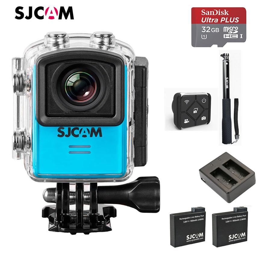 (Set S4) SJM20 WiFi พร้อม memory 32GB , แท่นชาร์จ , แบตเตอรี่ 2 ก้อน(รวมในตัวเครื่อง) , รีโมทควบคุม และ ไม้เซลฟี่