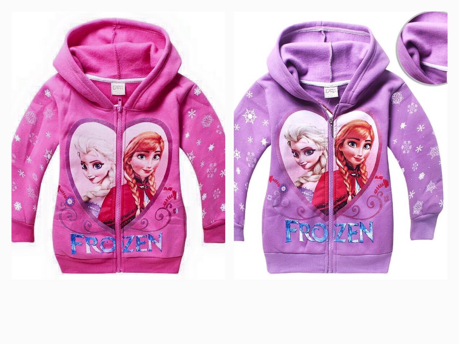 ชุดเสื้อกันหนาว Frozen สีม่วง