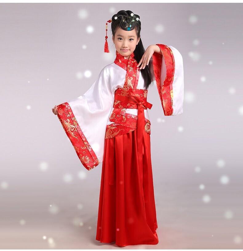 ชุดจีนโบราณ สีแดง