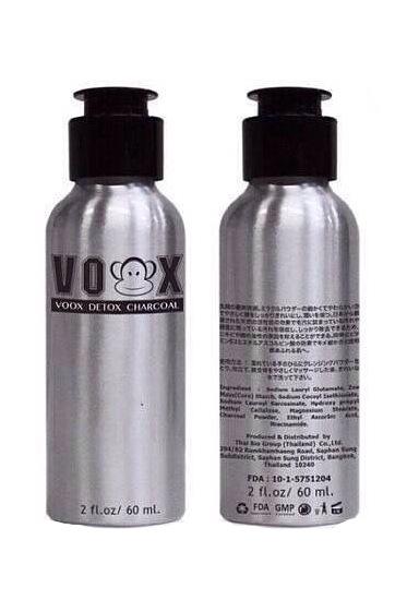 Voox Detox Charcoal วอกดีท๊อกซ์ชาร์โคล ผงถ่านวอก ล้างหน้า