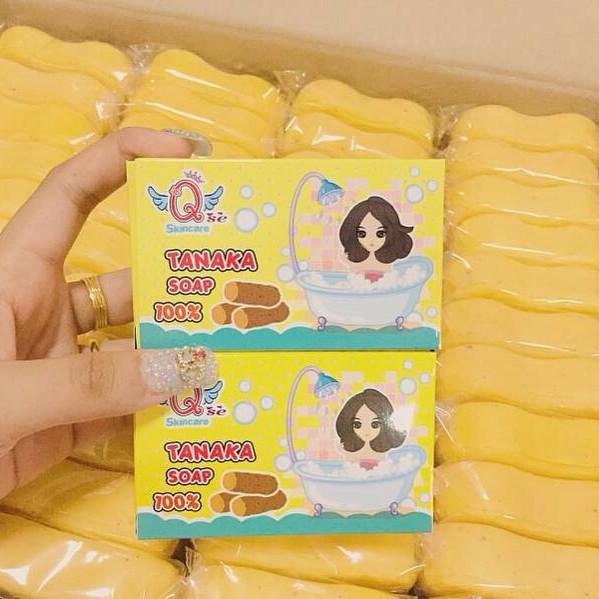 Tanaka Soap by Qse Skincare สบู่ทานาคา สมุนไพรประทินผิวชั้นดีของสาวชาวพม่า