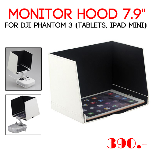 "Monitor Hood 7.9"" for DJI Phantom 3 (Tablets, iPad mini)"