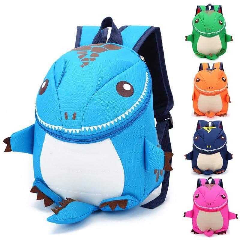 กระเป๋าเป้เด็ก ทรงกลม ไดโนเสาร์