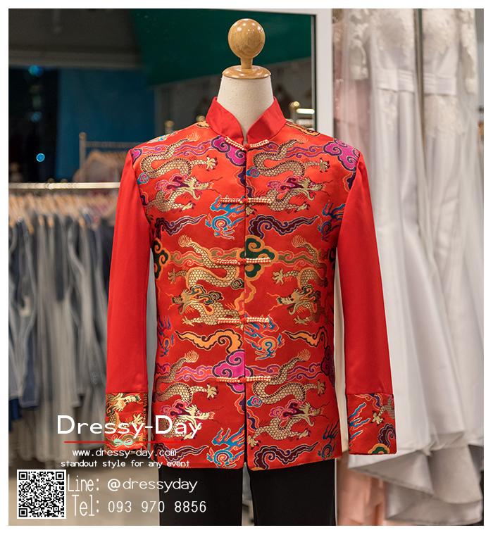 รหัส เสื้อจีนชาย : KPM009 เสื้อจีนชาย พร้อมส่ง ซื้อได้ที่ไหน -> แนะนำร้านเดรสซี่เดย์ www.dressy-dayนะคะ เสื้อจีนชาย คัตติ้งเนี๊ยบๆ พร้อมส่งเยอะสุดในไทย
