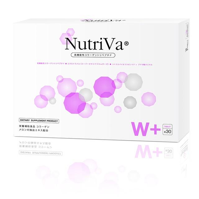 NutriVa นูทรีวา อาหารเสริม เพื่ออายุผิวที่เยาว์วัยกว่าอายุ