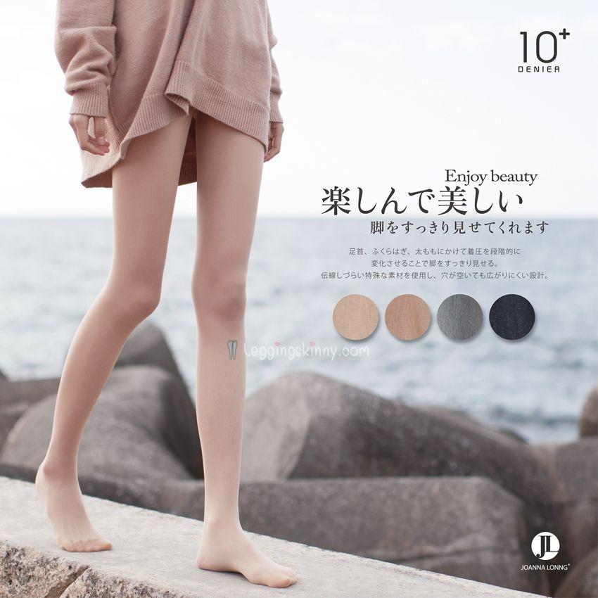 ถุงน่องญี่ปุ่น 10D by JOANNA LONNG มี 4 สี