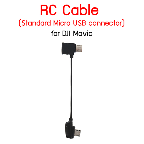 RC Cable (Standard Micro USB connector) for DJI Mavic