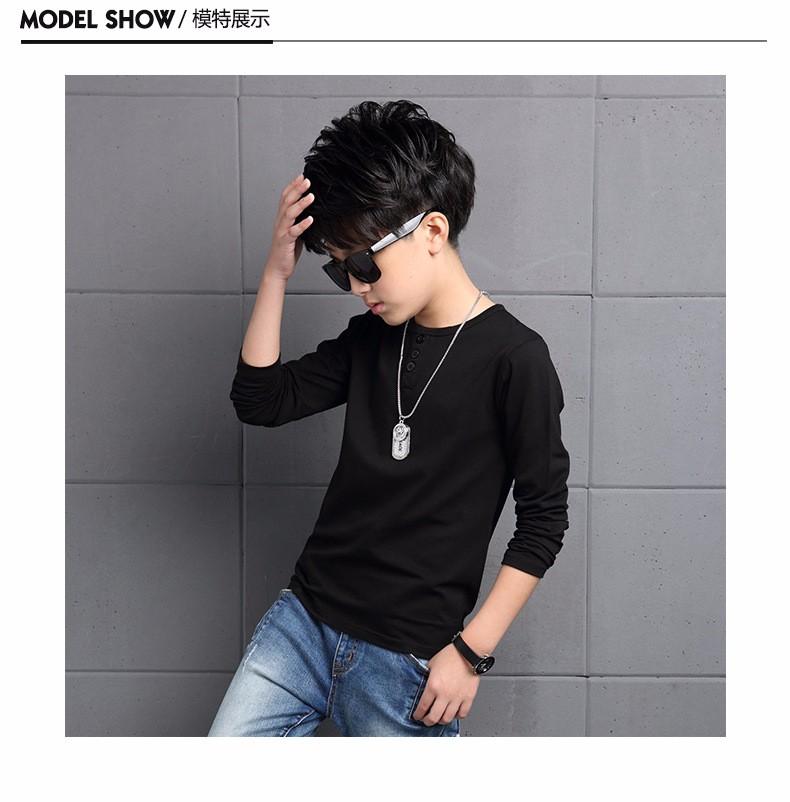 เสื้อแขนยาว สีดำ