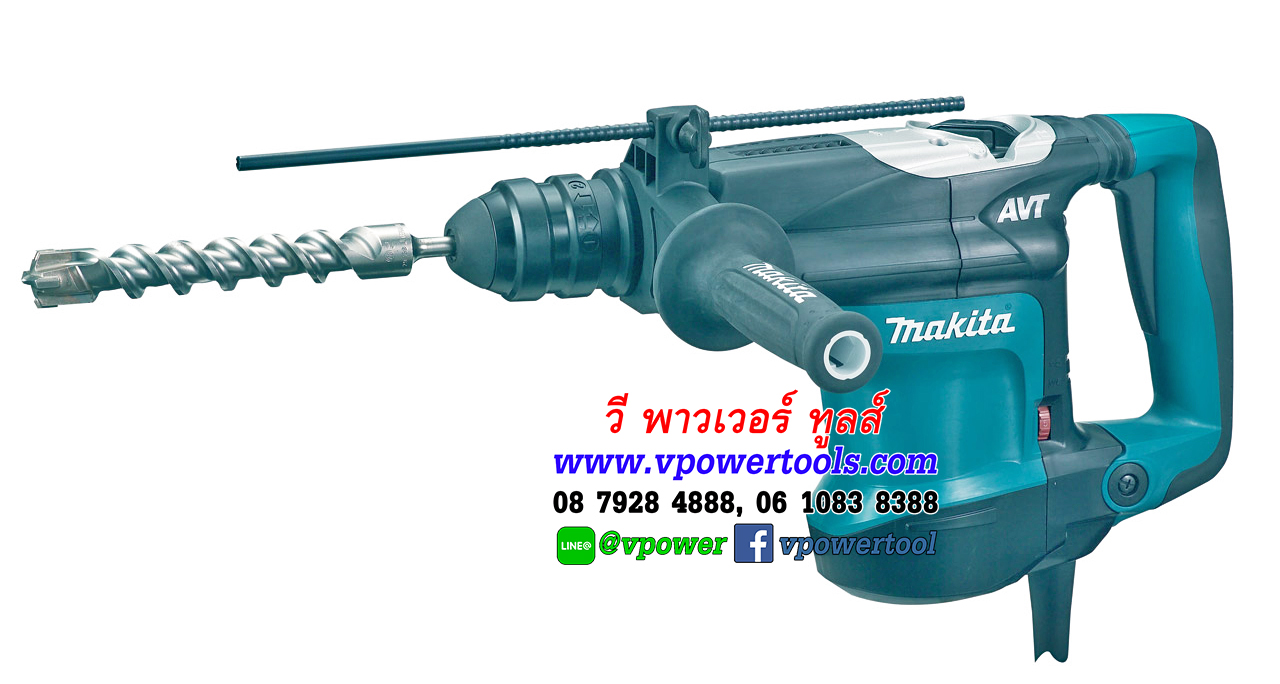 MAKITA HR4013C มากีต้า สว่านโรตารี่ 40 MM SDS-MAX (AVT)
