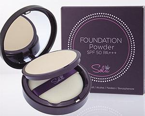 Sola Foundation Powder SPF50 PA+++ แป้งผสมรองพื้นควบคุมความมัน