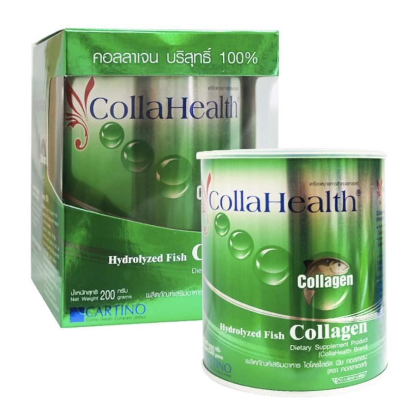 CollaHealth Hydrolyzed Fish Collagen คอลลาเฮลท์ คอลลาเจน บริสุทธิ์ 100%