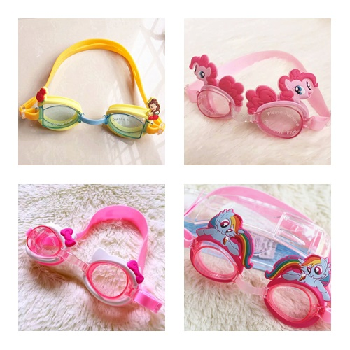 แว่นตาว่ายน้ำเด็ก ผู้หญิง 2