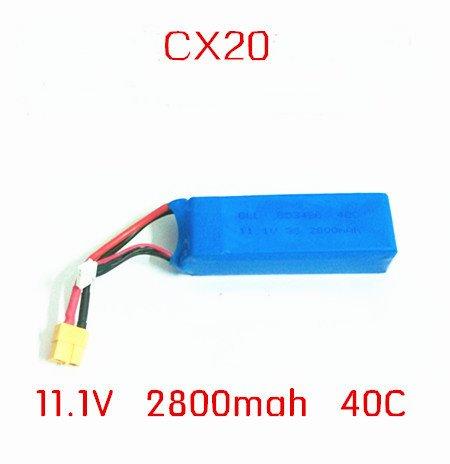แบต 2,800 mAh 11.1v สำหรับ CX 20