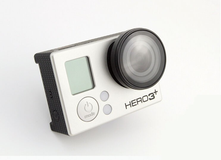UV Cover Optical Glass Lens for Gopro Hero 4/ 3+