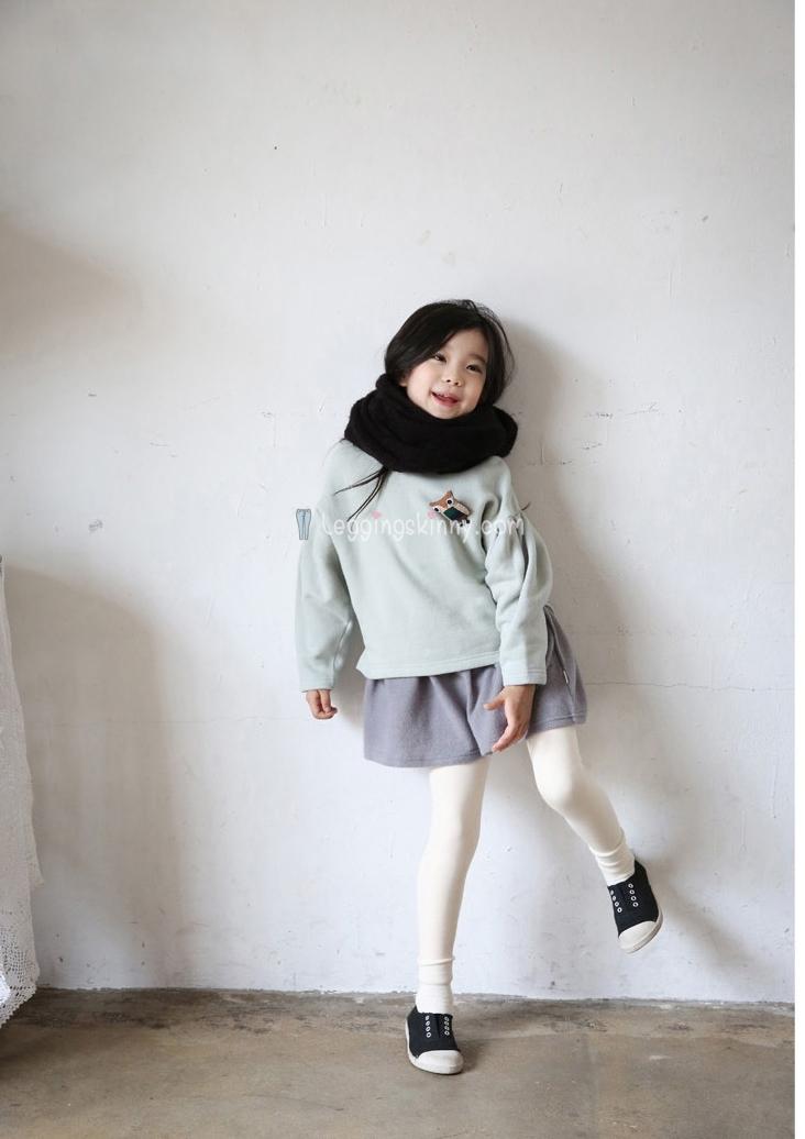 กางเกงผ้าฝ้ายบุขนกันหนาวเด็ก มีหลายสี