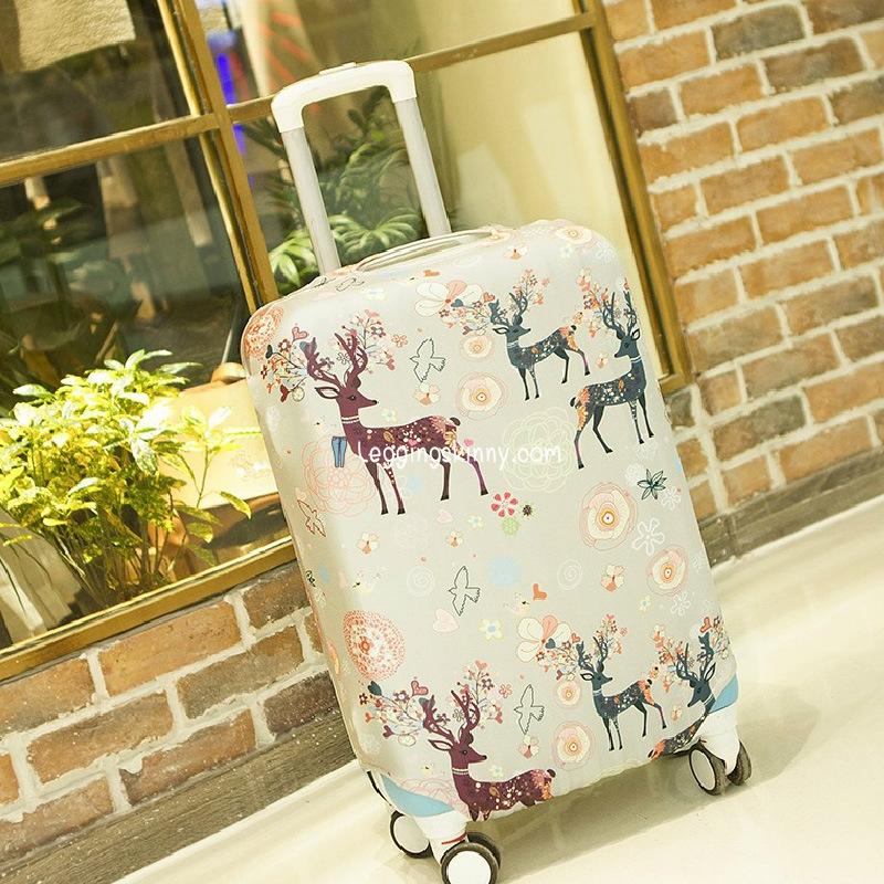 ผ้าคลุมกระเป๋าเดินทาง (Suitcase cover) มี 8 ลาย