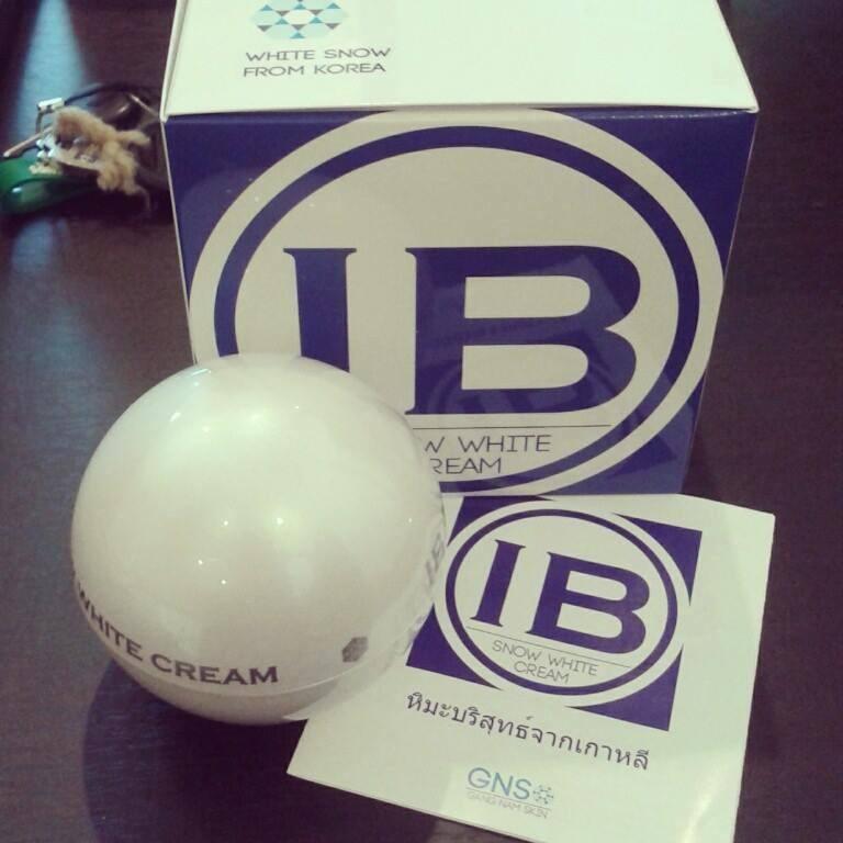 IB Snow White Cream ไอบี สโนไวท์ เผยความลับผิวสวยธรรมชาติ แบบสาวเกาหลี