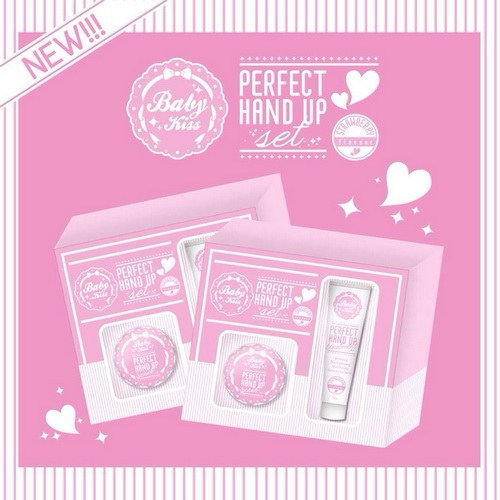 BABY KISS Perfect Hand Up Set - Strawberry Flavour
