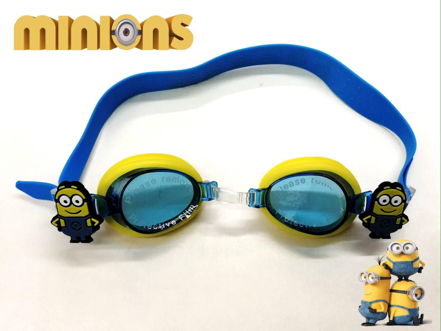 แว่นตาว่ายน้ำเด็ก มินเนี่ยน สีเหลือง