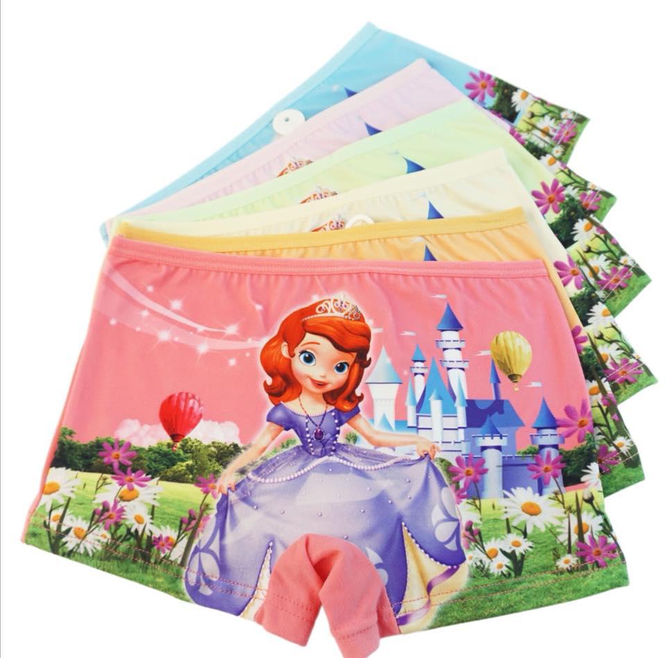 กางเกงในเด็ก ลายโซเฟีย