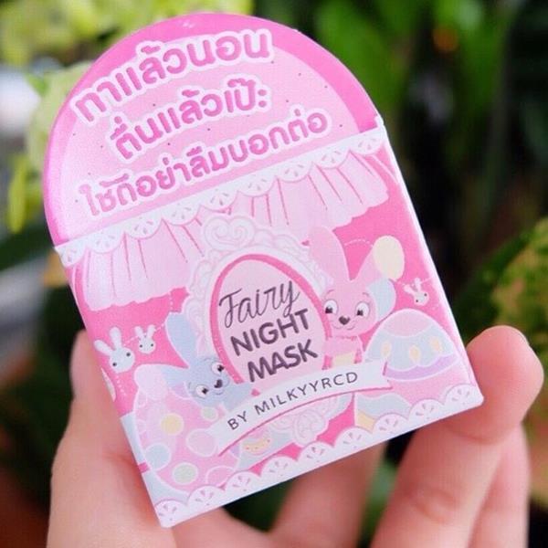 Fairy Milky Night Mask by Milkyyrcd มาส์คมิลค์ ทาแล้วนอน ตื่นแล้วเป๊ะ