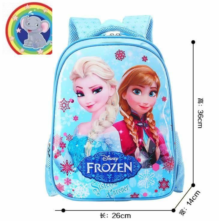 กระเป๋าเป้ โฟเซ่น สีฟ้า