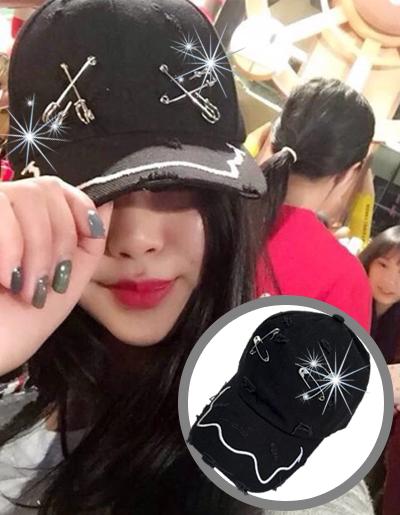 หมวกแฟชั่นผู้หญิง สวยเท่ห์สไตล์เกาหลี-H-002