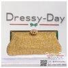 กระเป๋าออกงานพร้อ TE049 : กระเป๋าออกงานพร้อมส่ง สีทอง ที่ปิดรูปดอกไม้เพชร กระเป๋าคลัชตกแต่งเพชรทั้งใบสวยหรูมากค่ะ ใบยาวใส่ไอโฟนได้ ราคาถูกกว่าห้าง ถือออกงาน หรือ สะพายออกงาน น่ารักที่สุด